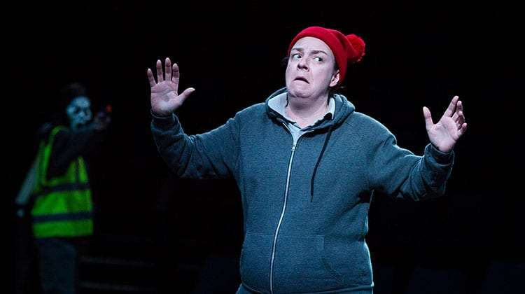 Sophie Stanton (Falstaff) in Henry IV - Photo: Helen Maybanks | First Look: Donmar Shakespeare Trilogy