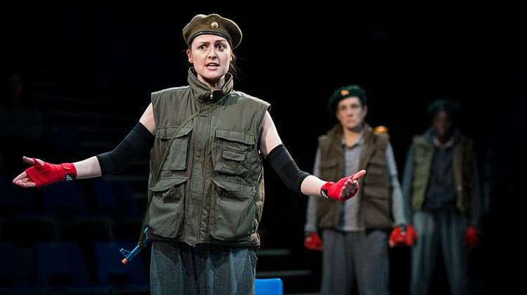Clare Dunne (Prince Hal) in Henry IV - Photo: Helen Maybanks | First Look: Donmar Shakespeare Trilogy