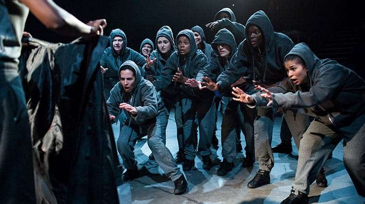 Julius Caesar Company - Photo: Helen Maybanks | First Look: Donmar Shakespeare Trilogy