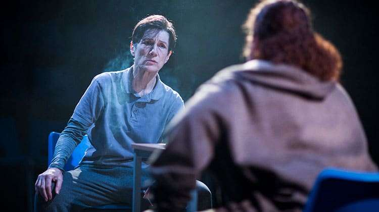 Harriet Walter (Brutus) in Julius Caesar - Photo: Helen Maybanks | First Look: Donmar Shakespeare Trilogy