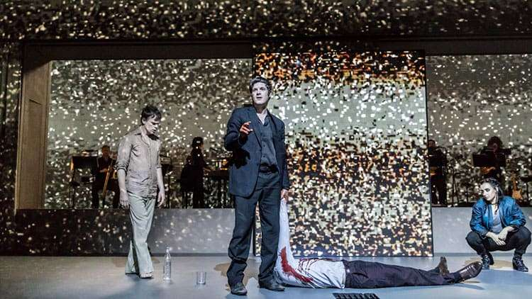 Michael C Hall & Michael Esper in Lazarus | Kings Cross Theatre | London | Photos: First Look at the West End production of Lazarus
