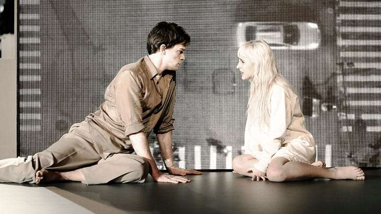 Michael C Hall & Sophia Anne Caruso in Lazarus | Kings Cross Theatre | London | Photos: First Look at the West End production of Lazarus