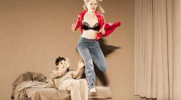Michael C Hall & Amy Lennox in Lazarus | Kings Cross Theatre | London