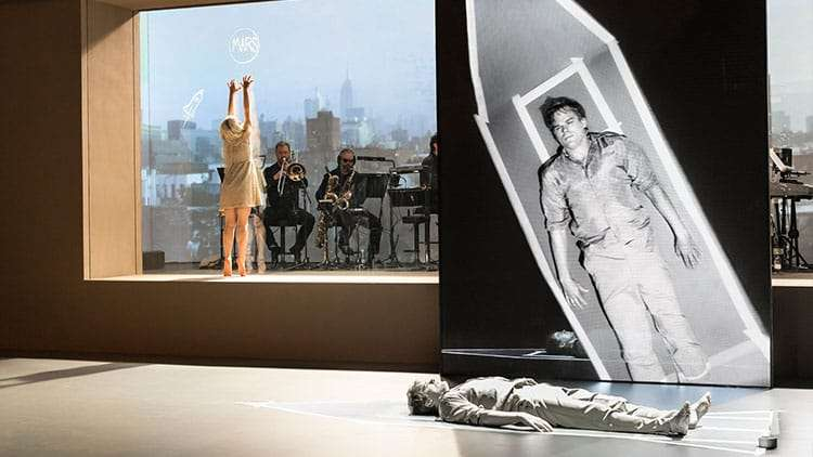 Lazarus | Kings Cross Theatre | London | David Bowie's Lazarus