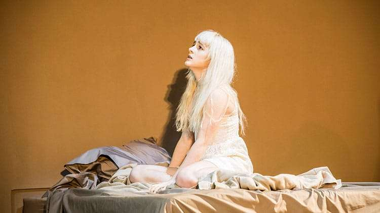 Sophia Anne Caruso in Lazarus | Kings Cross Theatre | London | Photos: First Look at the West End production of Lazarus