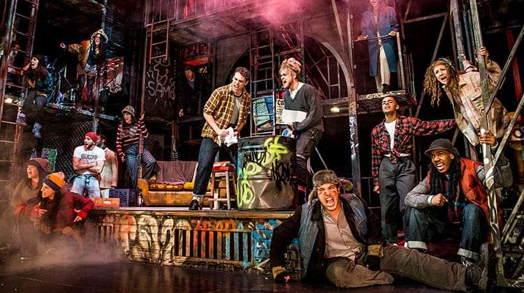 RENT | St James Theatre | Photo: Matt Crockett | First Look: 20th Anniversary production of Rent