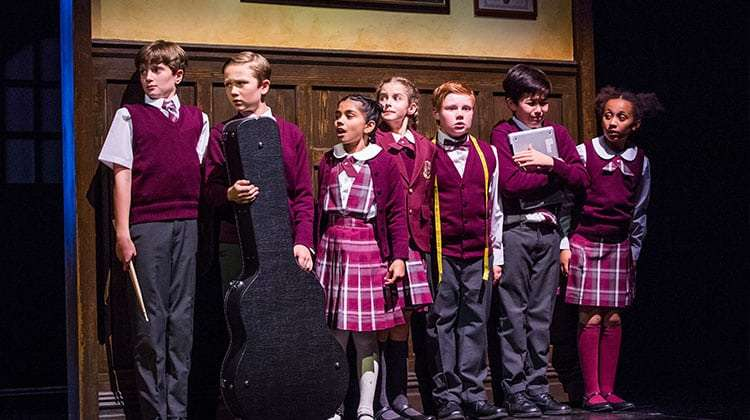Cast from School of Rock photo by Tristram Kenton | First Look: School of Rock – The Musical