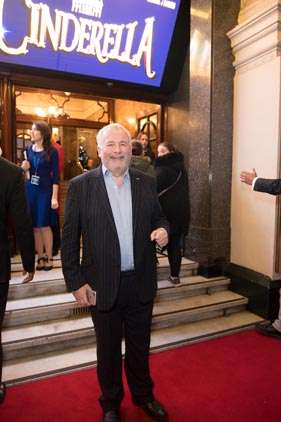 Christopher Biggins | Photo: Craig Sugden | In Pictures: Cinderella opening night at London Palladium