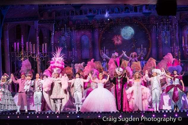 Curtain call | Photo: Craig Sugden | In Pictures: Cinderella opening night at London Palladium