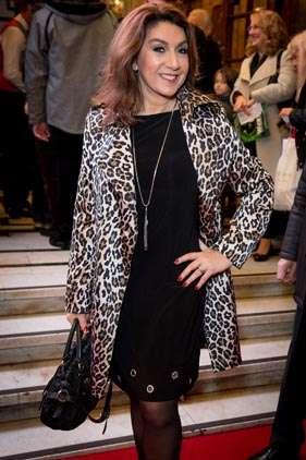 Jane McDonald   Photo: Craig Sugden   In Pictures: Cinderella opening night at London Palladium