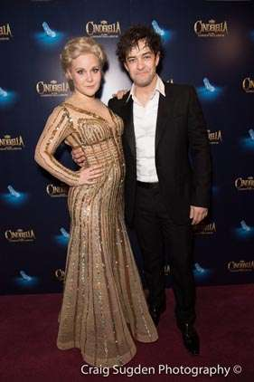 Natasha J Barnes & Lee Mead | Photo: Craig Sugden | In Pictures: Cinderella opening night at London Palladium