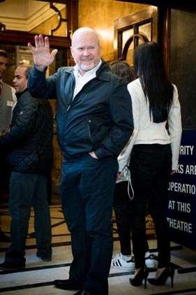 Steve McFadden | Photo: Craig Sugden | In Pictures: Cinderella opening night at London Palladium