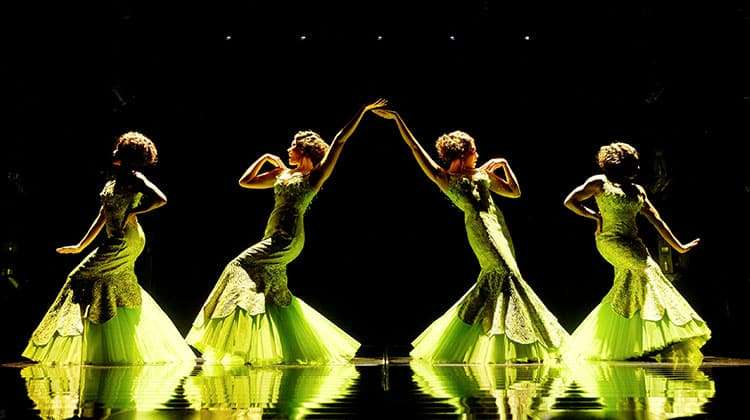 Dreamgirls | Photo: Brinkhoff Mögenburg | Dreamgirls The Musical at the Savoy Theatre.