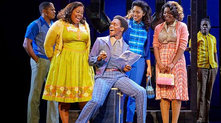 Tyrone Huntley in Dreamgirls | Photo: Brinkhoff Mögenburg | Dreamgirls The Musical at the Savoy Theatre.
