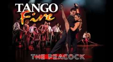 tango fire, peacock theatre, london