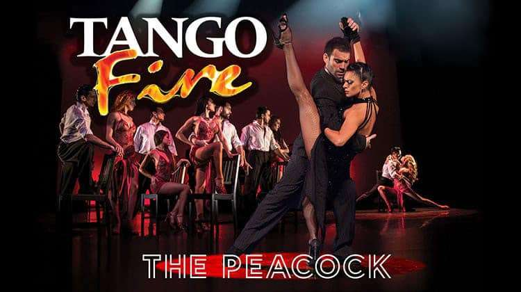 tango fire, peacock theatre, london