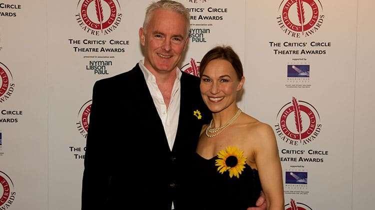 Tim Firth & Joanna Riding | Critics Choice Theatre Awards 2016 | In Pictures: Critics Circle Theatre Awards