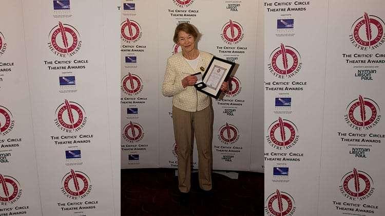 Glenda Jackson | Critics Choice Theatre Awards 2016 | In Pictures: Critics Circle Theatre Awards