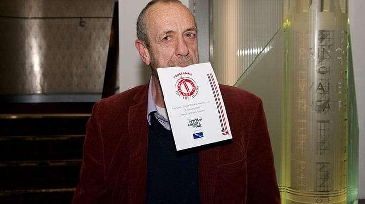 Arthur Smith | Critics Choice Theatre Awards 2016 | In Pictures: Critics Circle Theatre Awards
