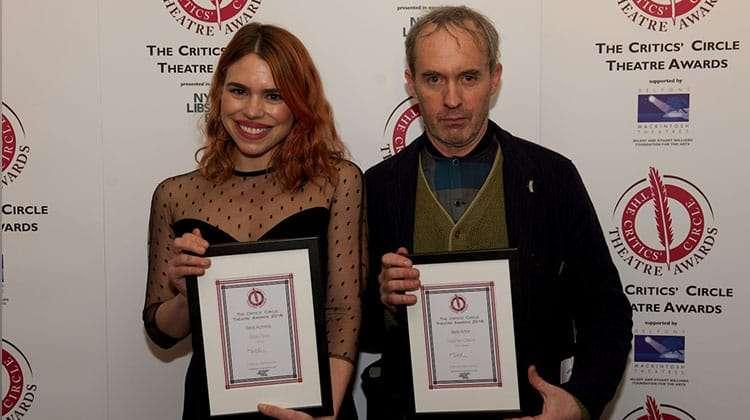 Billie Piper & Stephen Dillane | Critics Choice Theatre Awards 2016 | In Pictures: Critics Circle Theatre Awards