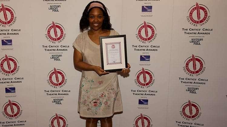 Charlene James | Critics Choice Theatre Awards 2016 | In Pictures: Critics Circle Theatre Awards