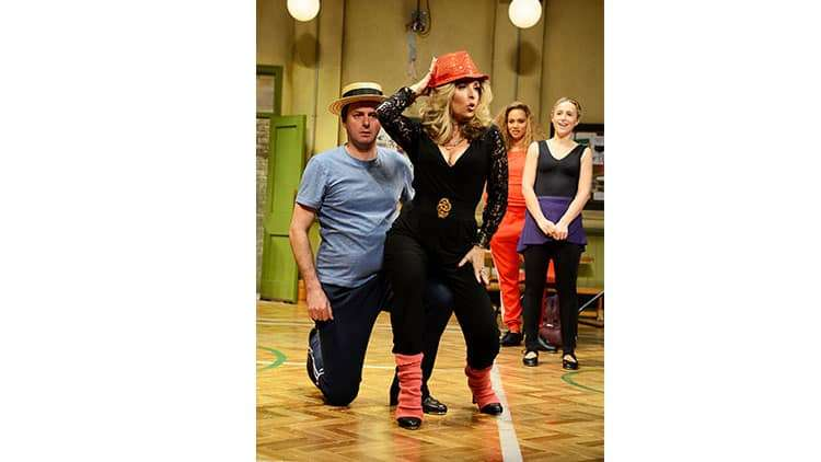 Tracy-Ann Oberman | Stepping Out | Photo: Nobby Clark | First Look: Stepping Out starring Amanda Holden