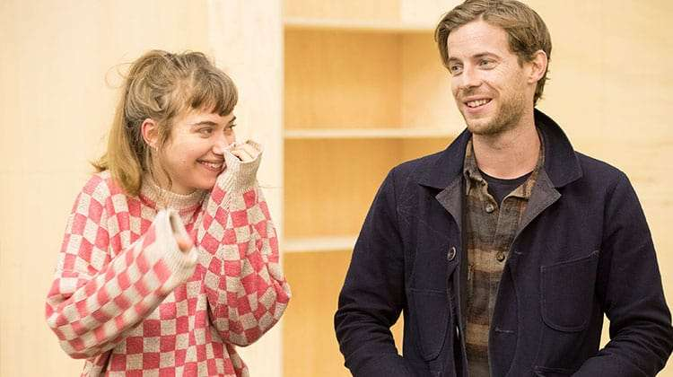 Imogen Poots & Luke Treadaway | Who's Afraid of Virginia Woolf? | Credit: Johan Persson | First Look: Imelda Staunton in rehearsal for Who's Afraid of Virginia Woolf?