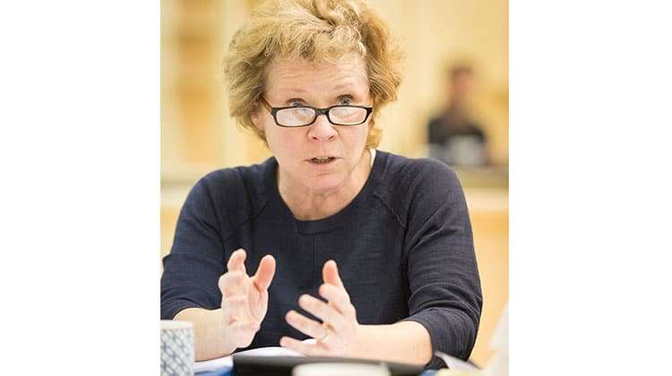 Imelda Staunton | Who's Afraid of Virginia Woolf?  | Credit: Johan Persson | First Look: Imelda Staunton in rehearsal for Who's Afraid of Virginia Woolf?