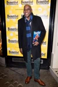 Ainsley Harriott at Gala Performance of Beautiful - The Carole King Musical, Aldwych Theatre, London, 2017