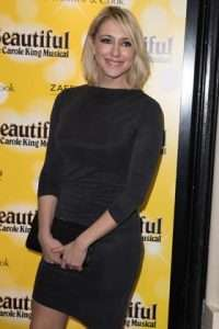 Ali Bastian at Gala Performance of Beautiful - The Carole King Musical, Aldwych Theatre, London, 2017