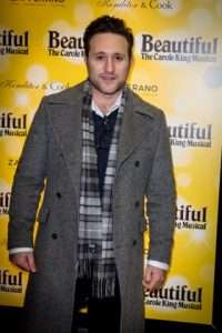 Antony Costa at Gala Performance of Beautiful - The Carole King Musical, Aldwych Theatre, London, 2017