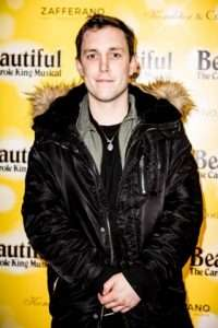 Chris Stark at Gala Performance of Beautiful - The Carole King Musical, Aldwych Theatre, London, 2017