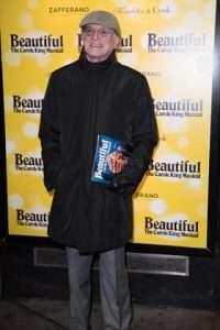 David Bradley at Gala Performance of Beautiful - The Carole King Musical, Aldwych Theatre, London, 2017