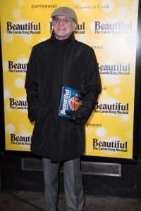 David Bradley at Gala Performance of Beautiful - The Carole King Musical, Aldwych Theatre, London, 2017