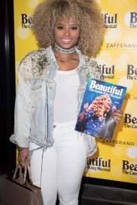 Fleur East at Gala Performance of Beautiful - The Carole King Musical, Aldwych Theatre, London, 2017
