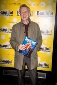 Frank Skinner at Gala Performance of Beautiful - The Carole King Musical, Aldwych Theatre, London, 2017