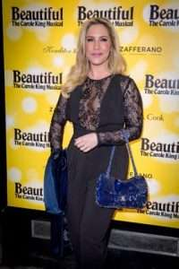 Heidi Range at Gala Performance of Beautiful - The Carole King Musical, Aldwych Theatre, London, 2017