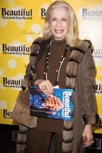 Lady Colin Campbell at Gala Performance of Beautiful - The Carole King Musical, Aldwych Theatre, London, 2017