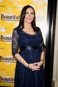 Linzi Stoppard at Gala Performance of Beautiful - The Carole King Musical, Aldwych Theatre, London, 2017