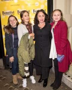 Samantha Spiro at Gala Performance of Beautiful - The Carole King Musical, Aldwych Theatre, London, 2017