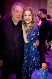 Terry Jones & Cassidy Janson at Gala Performance of Beautiful - The Carole King Musical, Aldwych Theatre, London, 2017