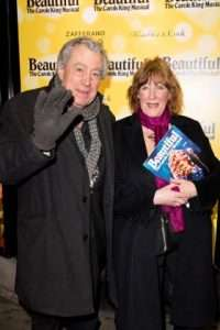 Terry Jones at Gala Performance of Beautiful - The Carole King Musical, Aldwych Theatre, London, 2017