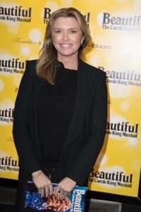 Tina Hobley at Gala Performance of Beautiful - The Carole King Musical, Aldwych Theatre, London, 2017