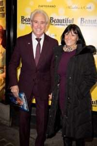 Tony Christie at Gala Performance of Beautiful - The Carole King Musical, Aldwych Theatre, London, 2017