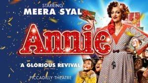 Meera Syal in Annie The Musical