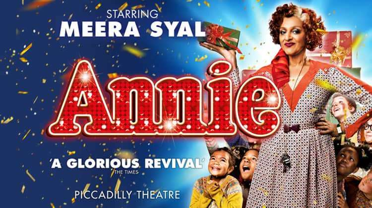 Meera Syal in Annie The Musical