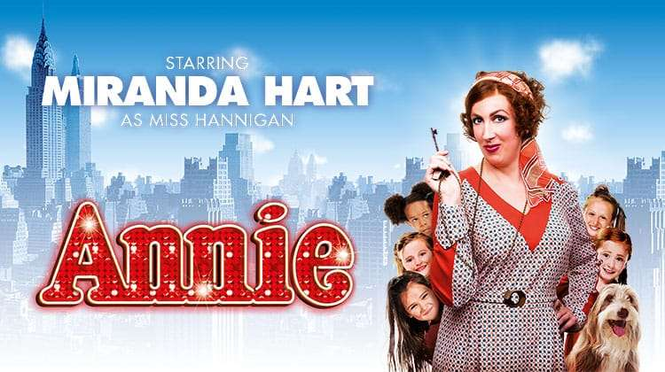 poster image for Annie The Musical, Piccadilly Theatre, London starring Miranda Hart