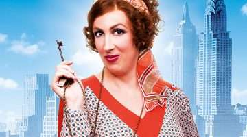Miranda Hart as Miss Hannigan in Annie The Musical, London