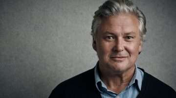 Conleth Hill publicity image for Who's Afraid of Virginia Woolf?