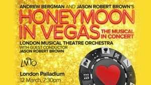 artwork Honeymoon in Vegas at London Palladium